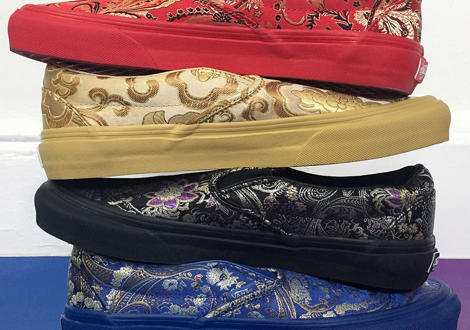"""f27ab970c07c Opening Ceremony Releases The Exclusive Vans """"Qi Pao"""" Collection"""