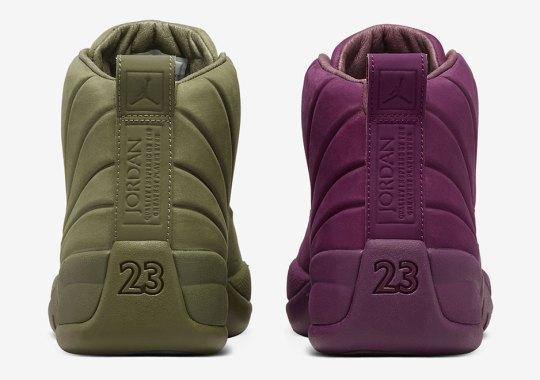 "The PSNY x Air Jordan 12 ""Milan"" and ""Paris"" Are Restocking On Nike SNKRS"