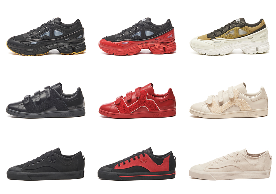 Raf Simons And adidas Unveil Full Range Of Footwear For Fall Winter 2017 75b1d5385f