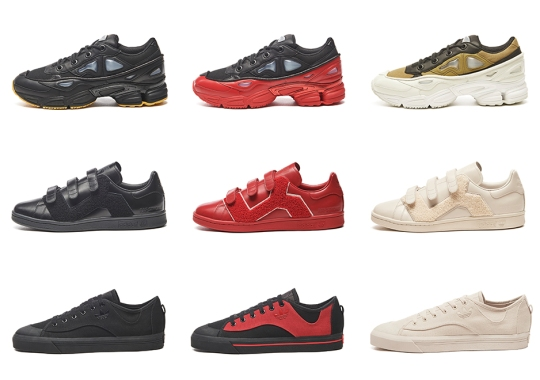 Raf Simons And adidas Unveil Full Range Of Footwear For Fall/Winter 2017