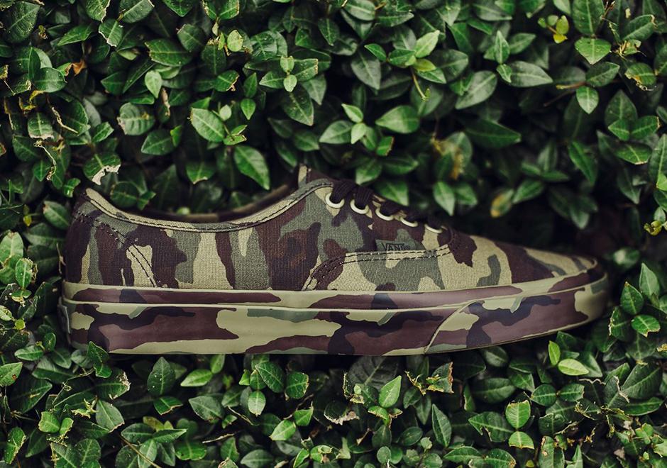 Vans Authentic Camo Canvas | SneakerNews.com