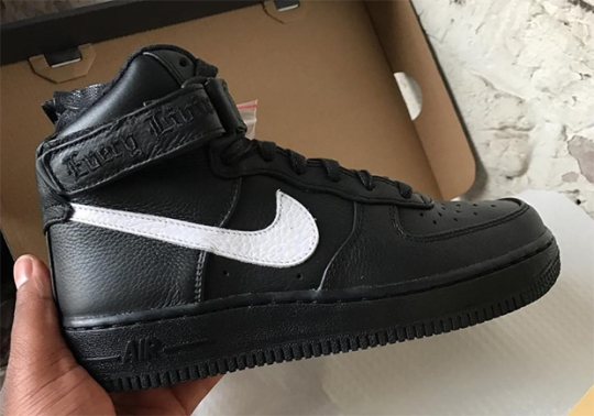 Another European Exclusive VLONE x Nike Air Force 1 High Is On The Way