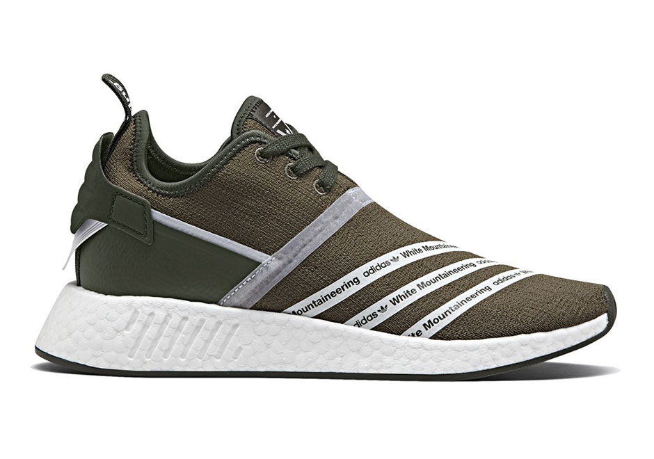 sports shoes b7043 23b9c ... Trail PK  White Mountaineering x adidas NMD R2 Release Date July 15th,  2017 ...