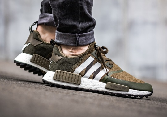 On-Feet Look At The White Mountaineering x adidas NMD Collection Coming This Weekend