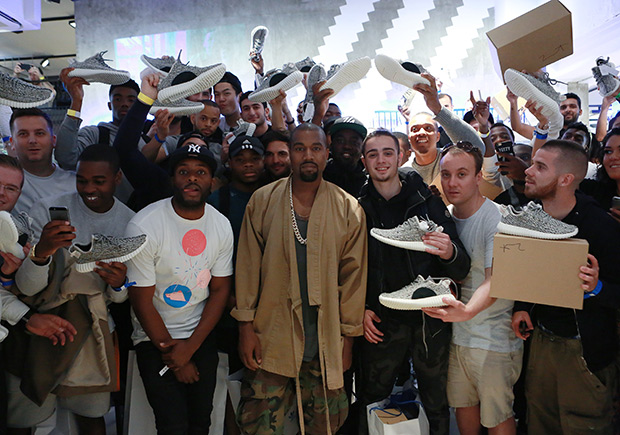 Kanye West Is Coming Through With His Promise As Yeezys Release In Larger Quantities