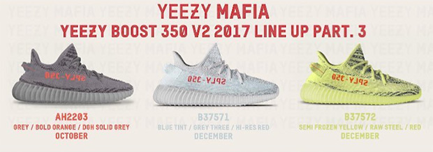 the best attitude 41520 b980f Yeezy Boost Release Numbers | SneakerNews.com