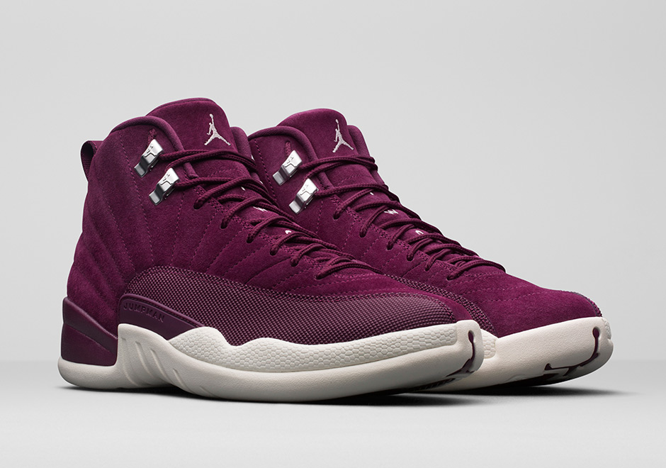 Air Jordan 12 Bordeaux Suede 130690-617  45149bc85