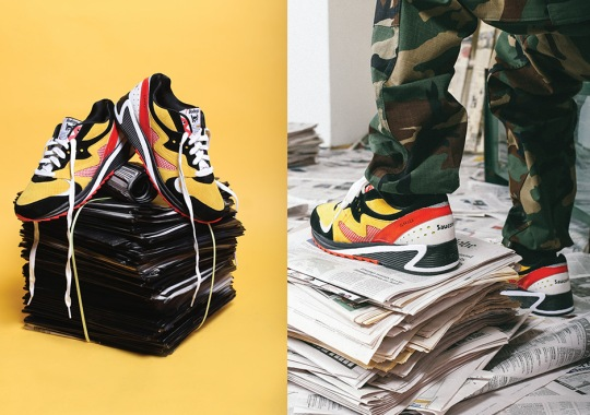 """Bodega And Saucony Ready To Publish the Grid 8000 """"Classifieds"""" this Weekend"""