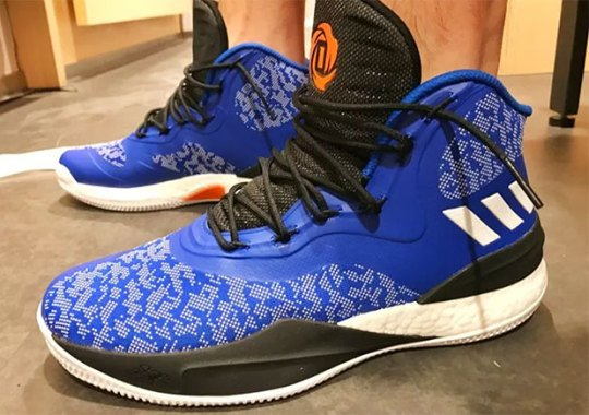 adidas Already Made Knicks Colors Of Derrick Rose's D Rose 8