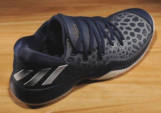 """James Harden's Next adidas Signature Shoe Is Releasing In """"Collegiate Navy"""""""