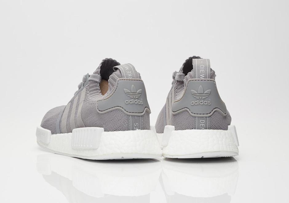 Adidas Nmd R1 Kvinners Hvitt Og Blått POoQxlyD