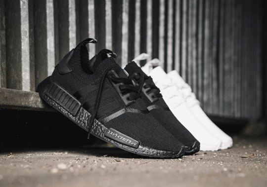 "adidas NMD R1 Primeknit ""Triple Black"" and ""Triple White"" Release This Friday"