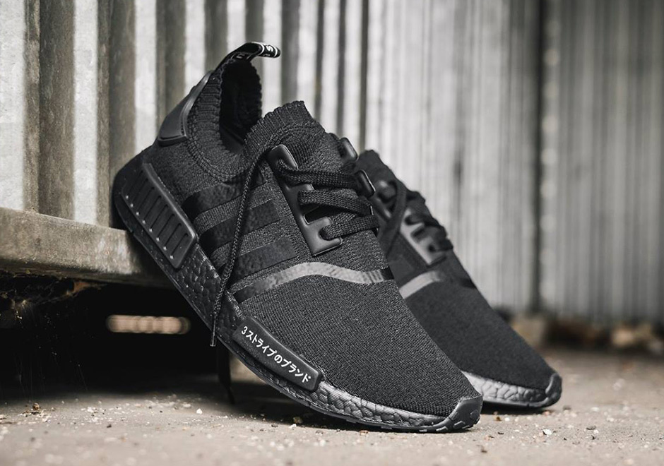 058d47149d33c adidas NMD R1 Primeknit Triple White and Triple Black Japan Release ...