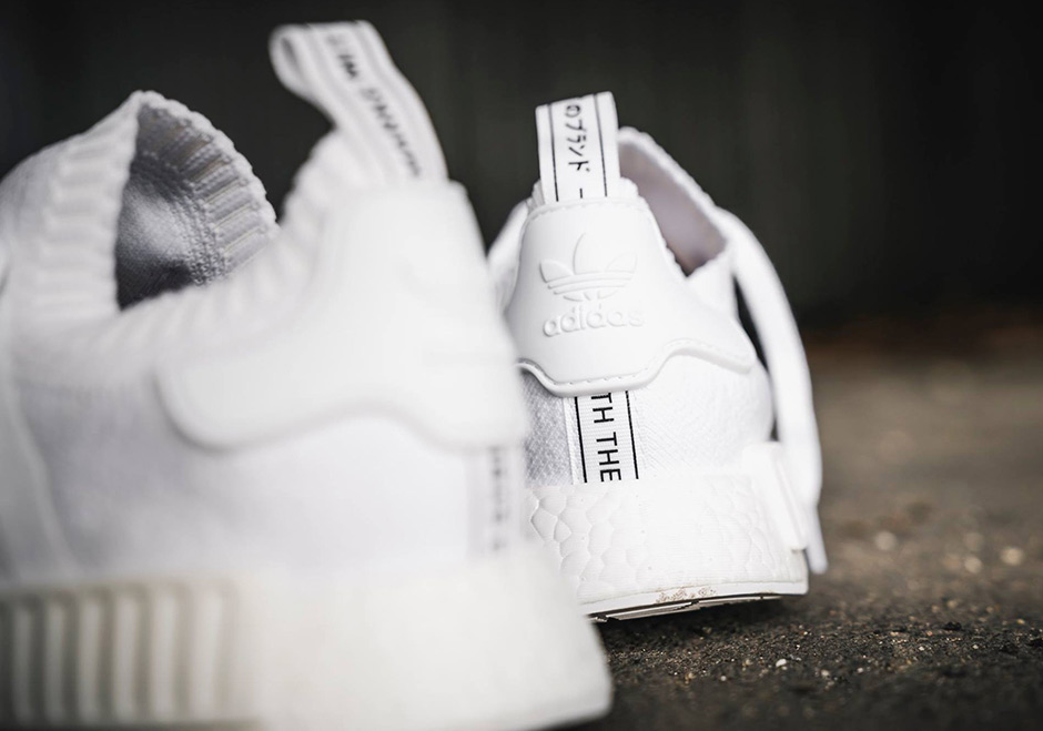 free shipping 5ef4f 55ff1 adidas NMD R1 Primeknit Triple White and Triple Black Japan Release ...