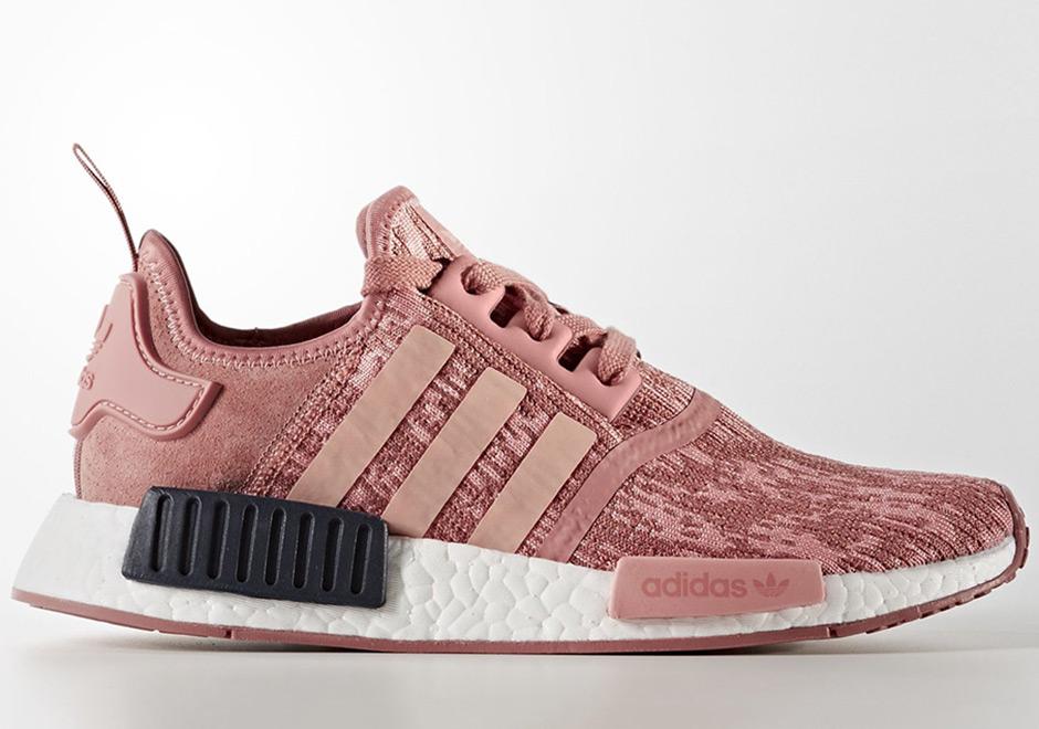 """adidas Women s NMD R1 """"Raw Pink"""" Release Date  September 1st 12a19d6b3b"""