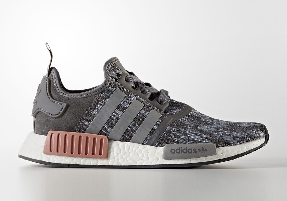 """adidas NMD R1 """"Grey Heather"""" Release Date  September 1st 64c52c5327"""