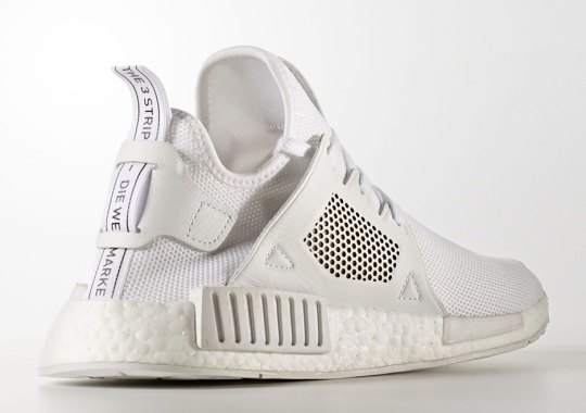"adidas NMD XR1 Textile ""Triple White"" Coming In August"