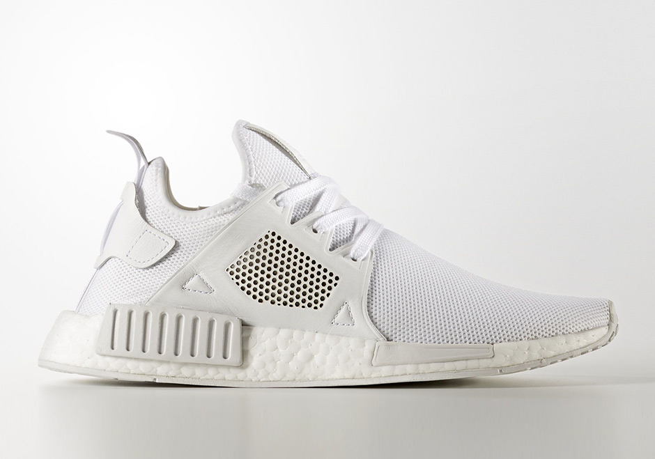 "8f1dff8fbd715 adidas NMD XR1 Textile ""Triple White"" Release Date  September 1st"