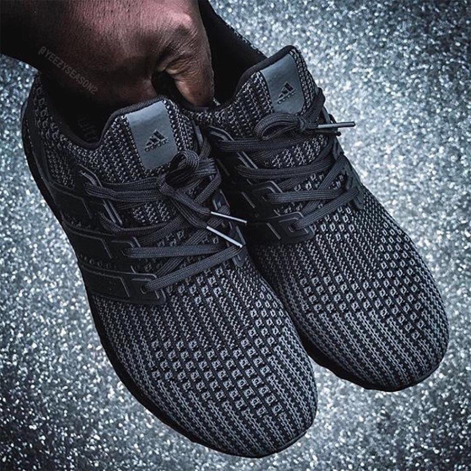 Adidas Boost Ultra 4,0 Triple Réassort Noir