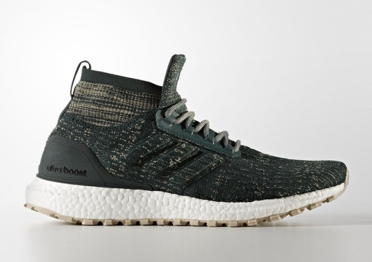 """adidas Ultra Boost ATR Mid """"Trace Green"""" Releases This Week"""