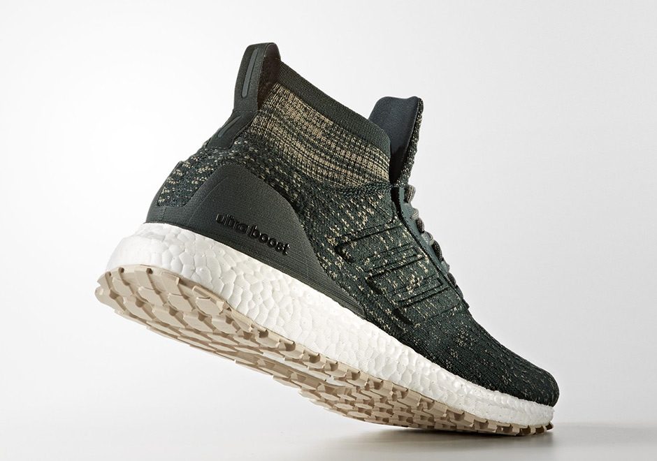 adidas Ultra Boost ATR Mid Trace Green Release Date CG3002 ... ed7f696e08