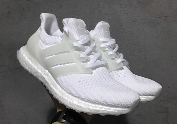 f1dabd68cab02 adidas Ultra Boost 4.0 Triple White Glow In The Dark