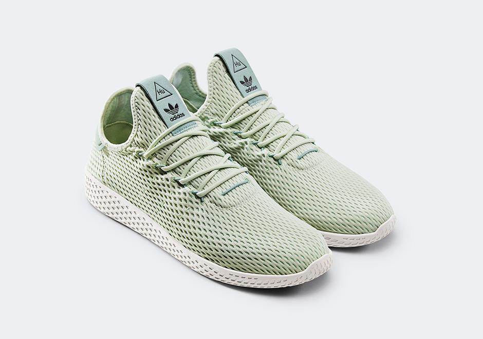 Adidas Pharrell Williams Stan Smith- Green tennis shoes