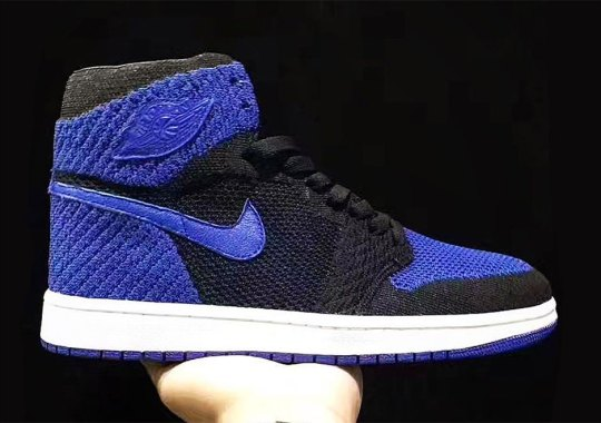 "The Air Jordan 1 Flyknit ""Royal"" Releases This October"