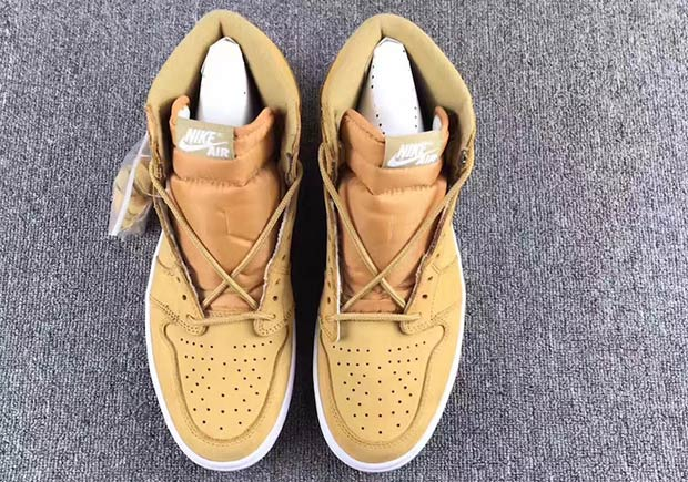 d7301803c99a Air Jordan 1 High Wheat Release Date 555088-710