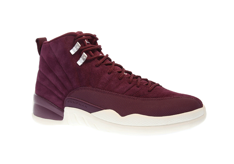 4eae3ffc82f82c ... authentic air jordan 12 retro bordeaux release date october 14th 2017  190. color bordeaux metallic