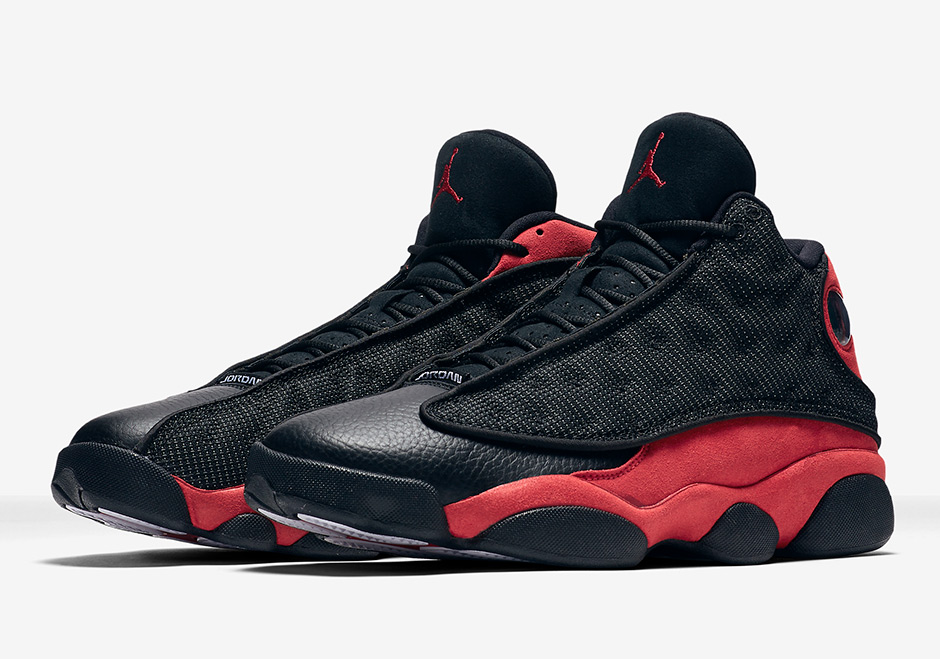 "new arrival 342b1 75551 Air Jordan 13 Retro ""Bred"" Release Date  August 19th, 2017  190. Color   Black Varsity Red-White Style Code  414571-004"