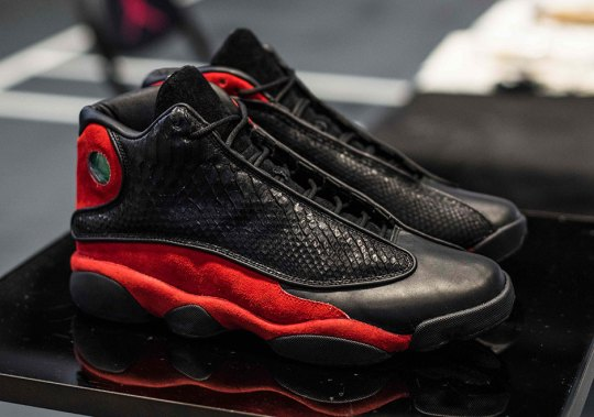 "Jordan Brand Taps The Shoe Surgeon To Reconstruct The Air Jordan 13 ""Bred"""
