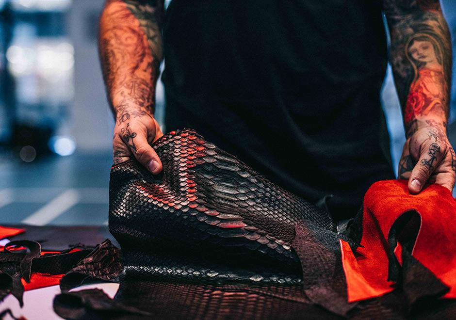The Shoe Surgeon Air Jordan 13 Bred Python Customs  f90c56f0a4