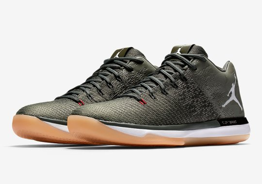 "Air Jordan 31 Low ""Camo"" Releases On August 18th"