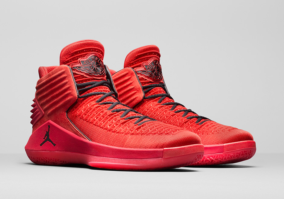 "Air Jordan 32 ""Rosso Corsa"" Release Date: September 23rd, 2017"