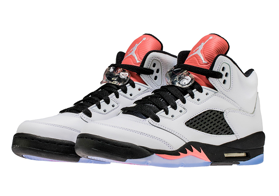 super popular ef012 862cf Air Jordan 5 GG Sun Blush 440892-115 | SneakerNews.com