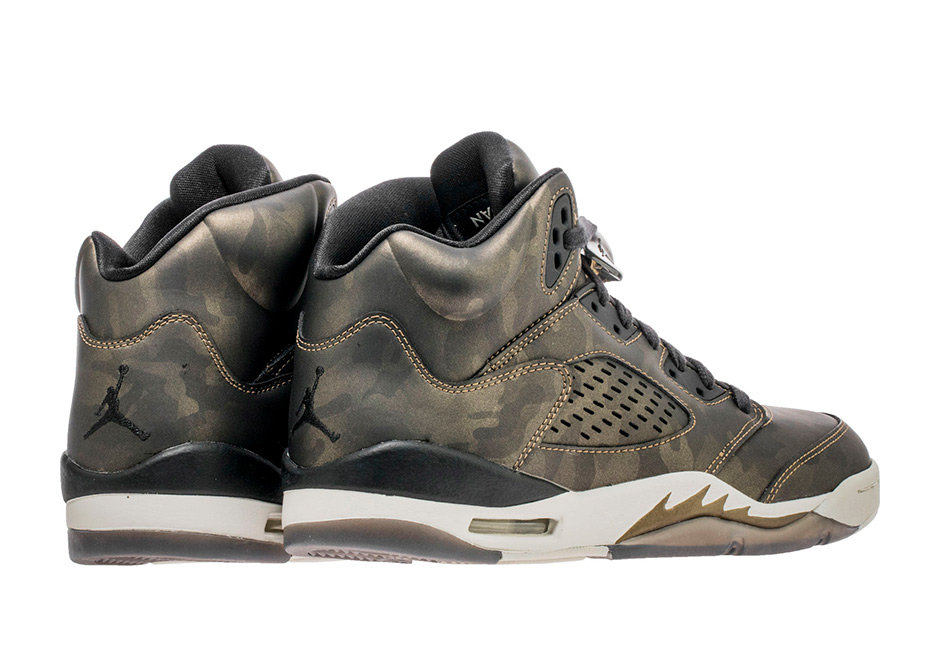 best loved d4aa5 8ceff Air Jordan 5 Metallic Camo Heiress Girl s Exclusive Release Date ...