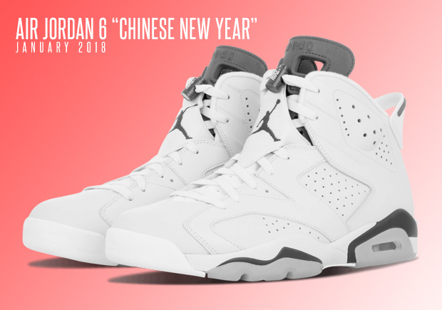 "97002ebed0a0d2 Air Jordan 6 ""Chinese New Year"" - January 2018 Release"