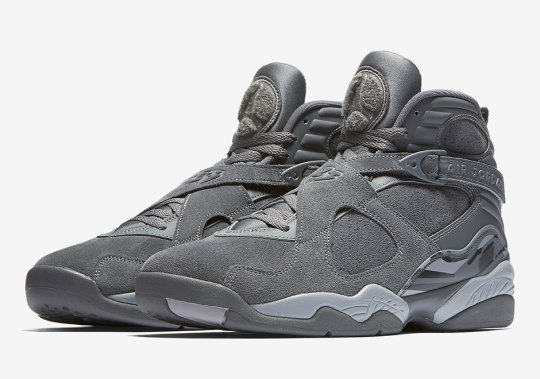"Official Images Of The Air Jordan 8 ""Cool Grey"""