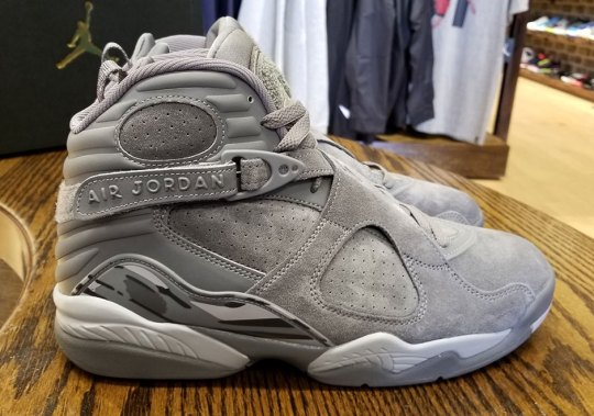 "The Air Jordan 8 ""Cool Grey"" Releases On August 28th"