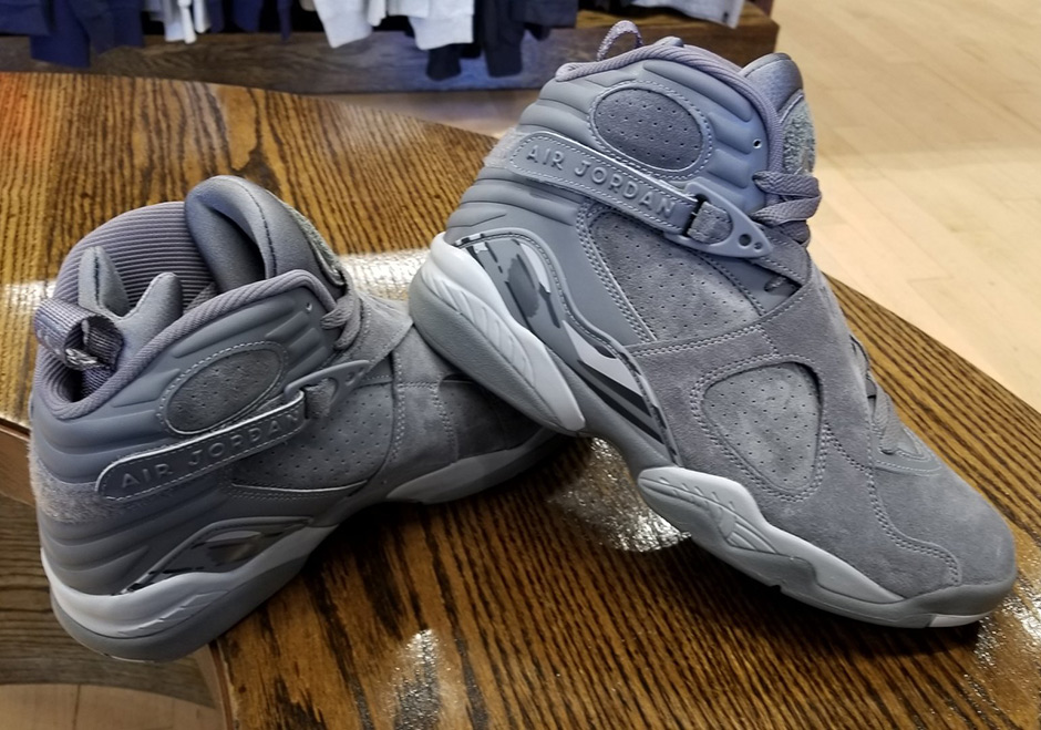 0bed5174cd99 ... best price air jordan 8 cool grey release date august 28th 2017 190.  color cool