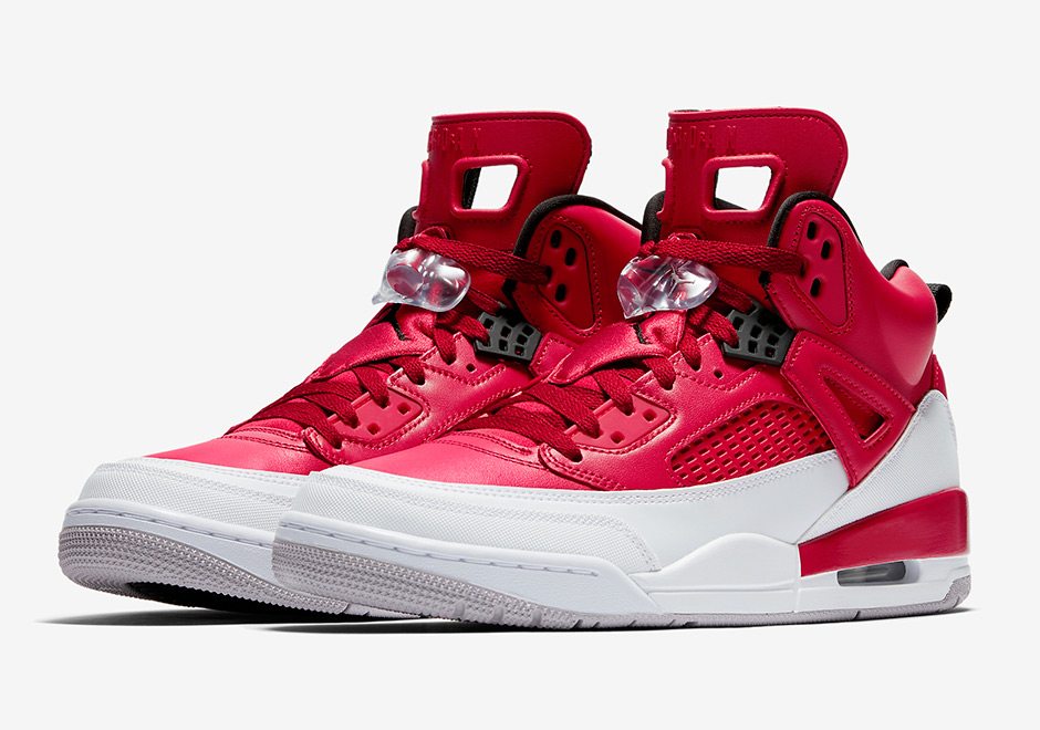 Jordan Spiz'ike Gets New Red and White Look This Fall