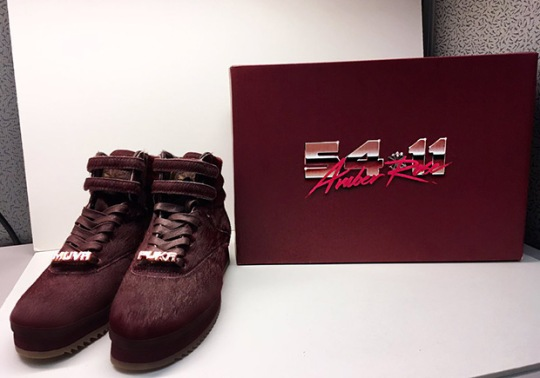 Amber Rose Reveals Collaboration With Reebok Freestyle Hi
