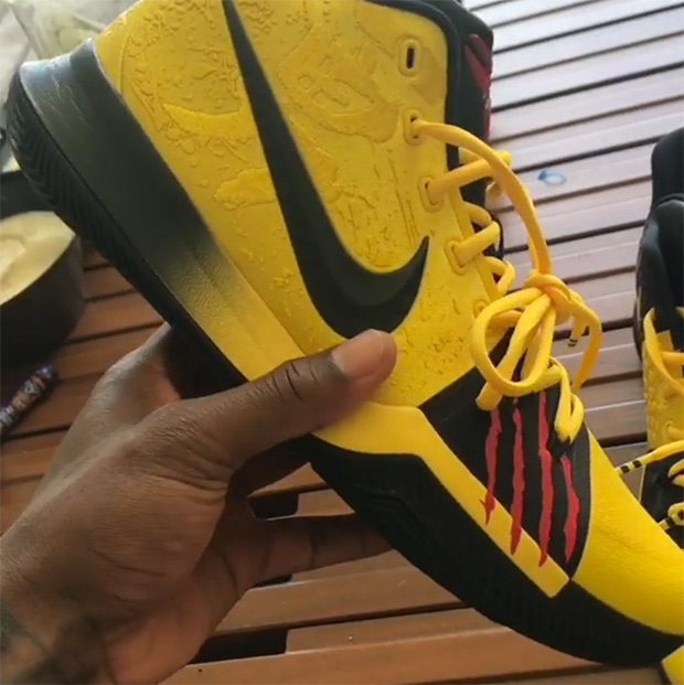 d36a910e05fd kyrieirving. Bruce Lee Edition KYRIE3  kobebryant inspired and influenced.  view all 35