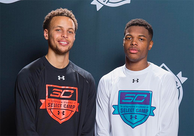 Steph Curry Officially Welcomes Dennis Smith Jr. To Under Armour