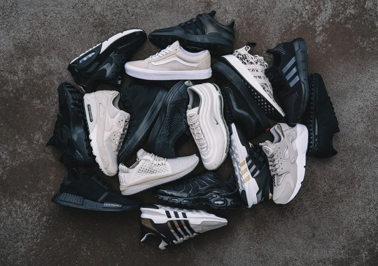 Foot Locker Drops the Black & Sand Footwear Collection