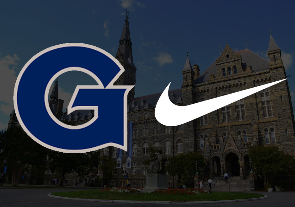 Georgetown University has been one of Nike's longest partners with the  Hoyas being a notable Jordan Brand sponsor on the basketball court and the  University ...