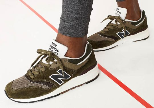 """J.Crew And New Balance Team Up For 997 """"Camo"""""""