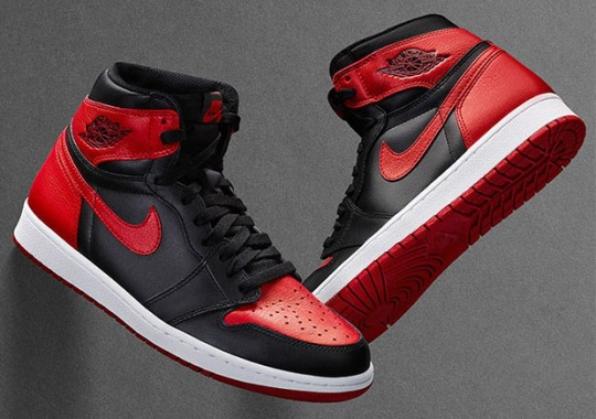 "Air Jordan 1 ""Banned"", ""Black Toe"", and ""Top Three"" Restocking Tomorrow On Nike SNKRS"