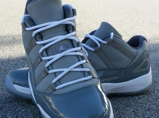 "Is The ""Cool Grey"" Air Jordan 11 Low Finally Releasing?"